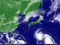 2013年9月13日12時JST ひまわり7号可視画像