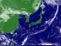 2013年9月17日12時JST ひまわり7号可視画像