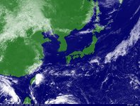 2013年9月18日12時JST ひまわり7号可視画像
