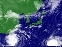 2013年9月21日12時JST ひまわり7号可視画像