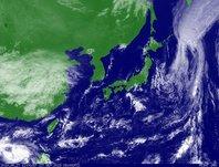 2013年9月27日12時JST ひまわり7号可視画像