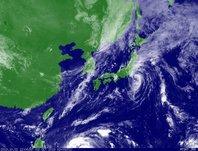 2013年10月02日12時JST ひまわり7号可視画像