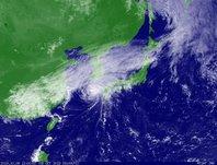 2013年10月08日12時JST ひまわり7号可視画像