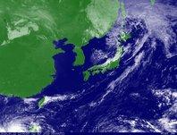 2013年10月12日12時JST ひまわり7号可視画像
