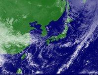 ひまわり7号可視画像 2013年10月17日12時JST