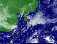 ひまわり7号可視画像 2013年10月20日12時JST