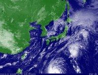 ひまわり7号可視画像 2013年10月21日12時JST
