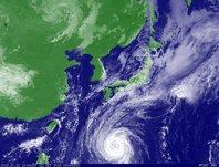 ひまわり6号可視画像 2013年10月22日12時JST