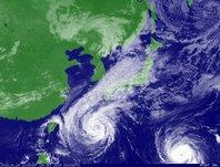 ひまわり6号可視画像 2013年10月24日12時JST