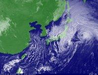 ひまわり6号可視画像 2013年10月26日12時JST