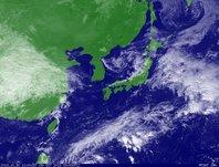 ひまわり6号可視画像 2013年10月30日12時JST