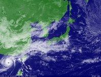 ひまわり6号可視画像 2013年11月2日12時JST