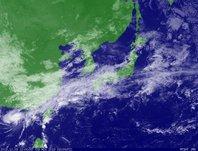 ひまわり6号可視画像 2013年11月3日12時JST