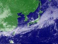 ひまわり6号可視画像 2013年11月4日12時JST