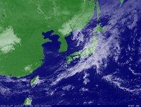 ひまわり6号可視画像 2013年11月7日12時JST