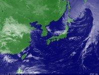 ひまわり6号可視画像 2013年11月8日12時JST