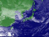 ひまわり6号可視画像 2013年11月9日12時JST