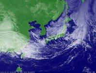 ひまわり6号可視画像 2013年11月11日12時JST