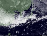 ひまわり7号可視画像 2014年3月1日12時JST
