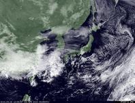ひまわり7号可視画像 2014年3月4日12時30分JST