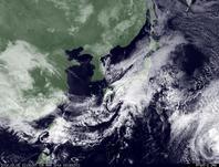 ひまわり7号可視画像 2014年3月5日12時30分JST