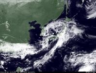 ひまわり7号可視画像 2014年4月30日12時JST