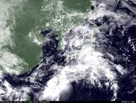 ひまわり7号可視画像 2014年6月11日12時JST