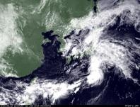 ひまわり7号可視画像 2014年6月12日12時JST