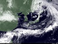 ひまわり7号可視画像 2014年6月14日12時JST
