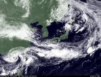 ひまわり7号可視画像 2014年6月15日12時JST