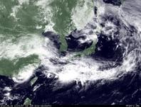 ひまわり7号可視画像 2014年6月16日12時JST