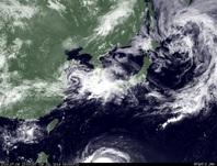 ひまわり7号可視画像 2014年7月6日12時JST