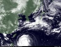 ひまわり7号可視画像 2014年7月7日12時JST