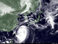 ひまわり7号可視画像 2014年7月8日12時JST