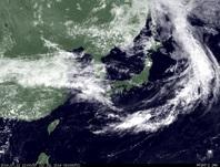 ひまわり7号可視画像 2014年7月12日12時JST
