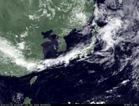 ひまわり7号可視画像 2014年7月14日12時JST