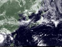 ひまわり7号可視画像 2014年7月18日12時JST