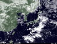 ひまわり7号可視画像 2014年7月20日12時JST