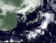 ひまわり7号可視画像 2014年7月21日12時JST