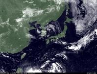 ひまわり7号可視画像 2014年7月29日12時JST