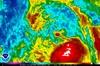 ひまわり7号赤外線画像 2014年7月31日23時30分JST