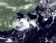 ひまわり7号可視画像 2014年8月2日12時JST