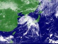 ひまわり7号可視画像 2014年8月3日12時JST