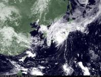 ひまわり7号可視画像 2014年8月10日12時JST