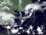 ひまわり7号可視画像 2014年8月11日12時JST