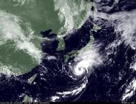 ひまわり7号可視画像 2014年9月8日12時JST