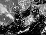 ひまわり7号可視画像・天気図合成 2014年9月8日12時JST