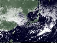 ひまわり7号可視画像 2014年9月12日12時JST