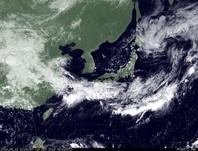 ひまわり7号可視画像 2014年9月13日12時JST