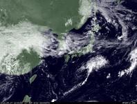 ひまわり7号可視画像 2014年9月17日12時JST